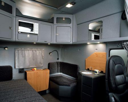 Scania exc die ultimative fernverkehrsmaschine for Grande cabina di lusso orso